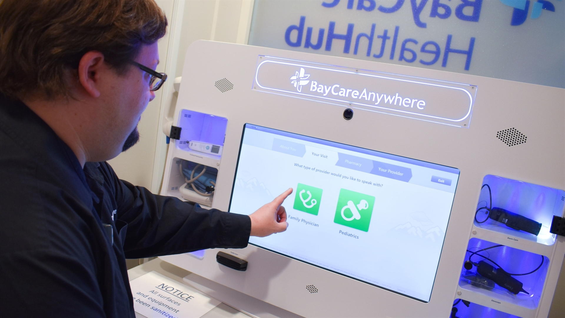 BayCare Opens First Telehealth Kiosk at Local YMCA