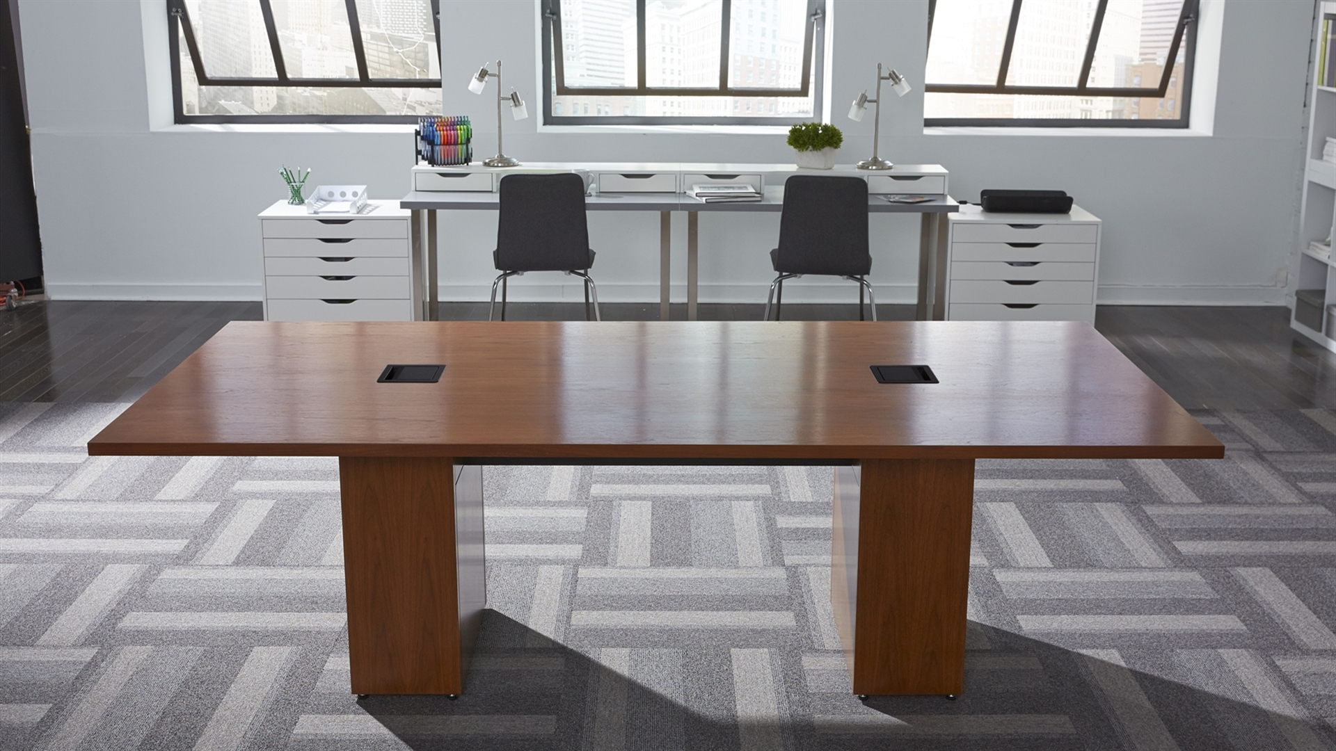 T Conference Table Connectivity - Conference table connectivity