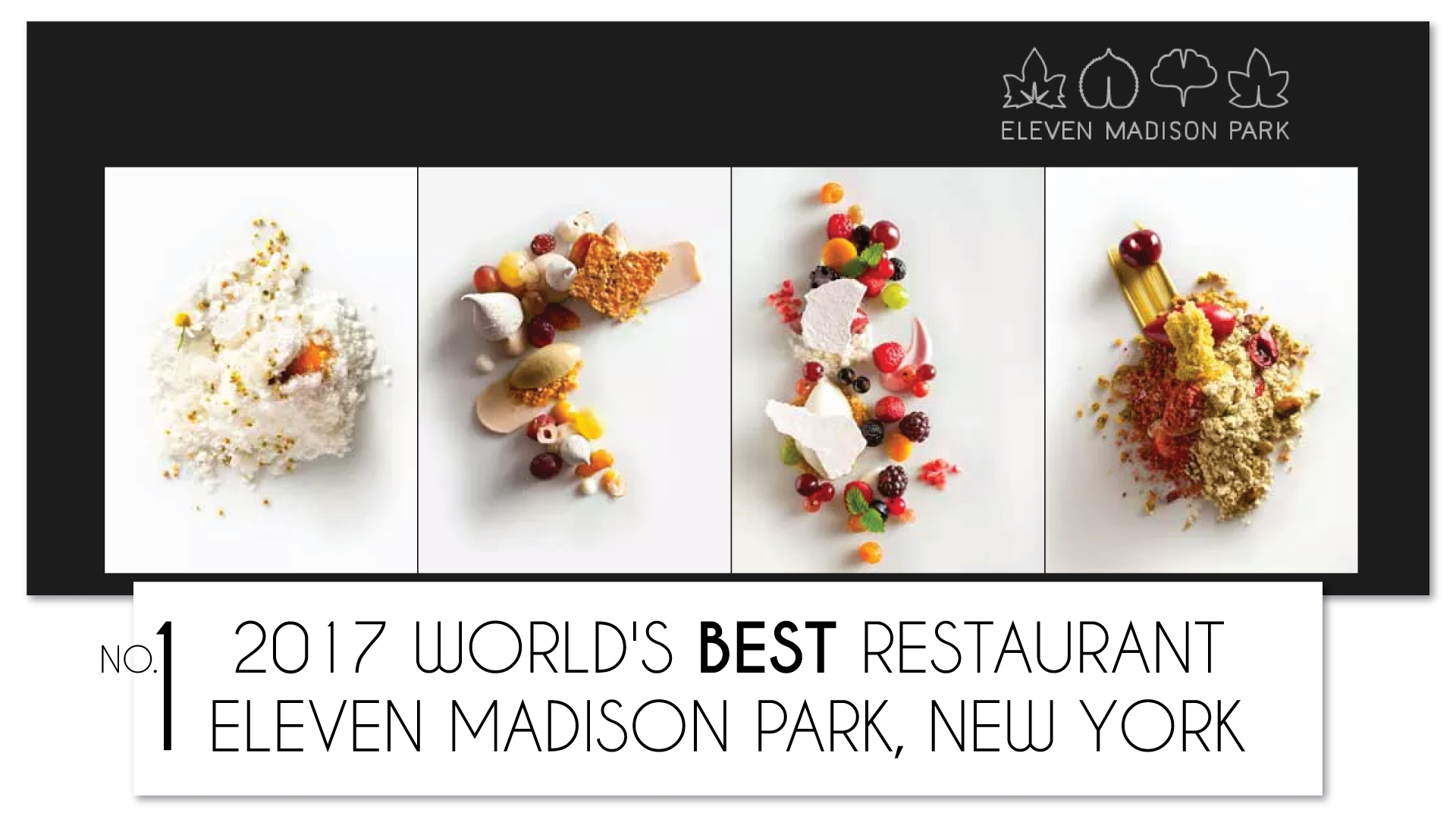 Eleven Madison Park claims No.1 Spot at the Worlds 50's Best Restaurants  awards